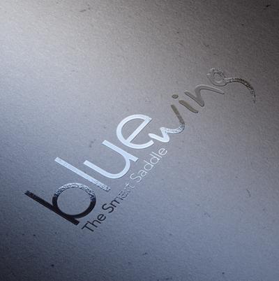 Logo Blue Wing Voltaire Design