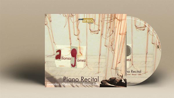 CD Piano Recital _ Alfonso Gómez_2009